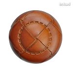 Shank Leather Button: BMJ05 L. Brown