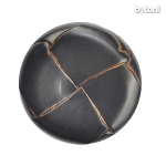 Shank Leather Button: BMJ06 DK. Brown