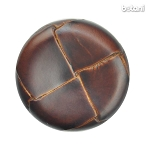 Shank Leather Button: BMJ06 MD. Brown