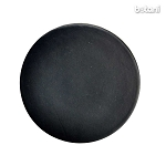 Shank Leather Button: BMJ07 Black