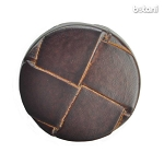 Shank Leather Button: BMJ10 MD. Brown