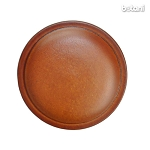 Shank Leather Button: BMJ18 L. Brown