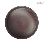 Shank Leather Button: BMJ18 MD. Brown