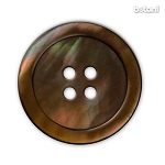 Mother Of Pearl Button: Brown