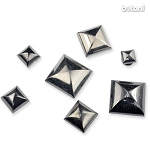 Square Rivet: Gunmetal