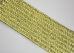 Metallic Hard Woven Elastic: 63mm