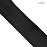 Flat Elastic : Black 25mm (1