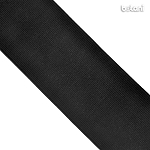 Flat Elastic : Black 60mm (2 13/32