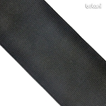 Flat Elastic : Black 76mm (3