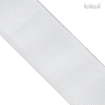 Flat Elastic : White 60mm (2 13/32