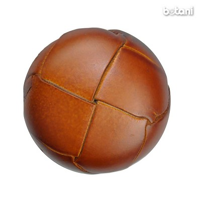 Shank Leather Button: BMJ03 L. Brown
