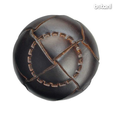 Shank Leather Button: BMJ05 DK. Brown