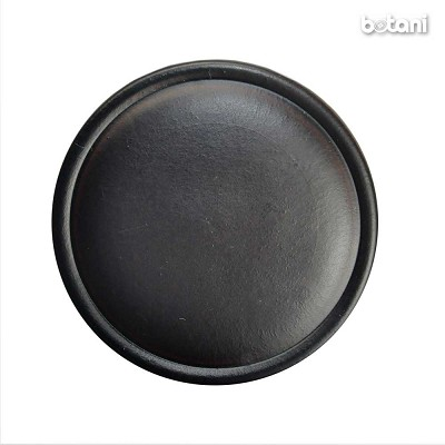 Shank Leather Button: BMJ18 DK. Brown