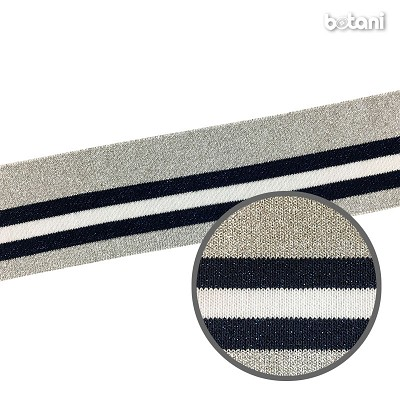 "YDSL1805-69: 2.5"" x 40"" Striped Rib Knit"
