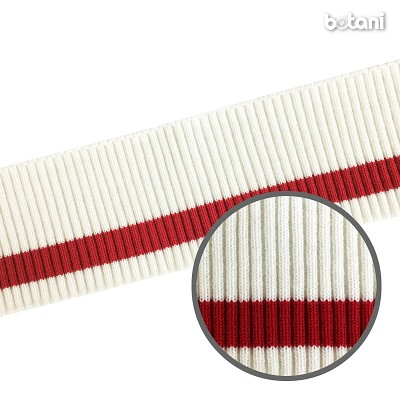 "YDSL1805-65: 3"" x 38"" Striped Rib Knit"