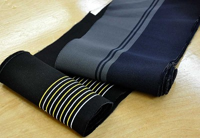 "Ribbed Knit Stripe S5 / 40"" L X 6.3"" W"