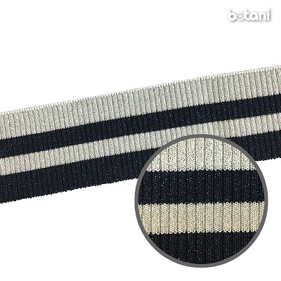 "YDSL1805-70: 2"" x 36"" Striped Rib Knit"