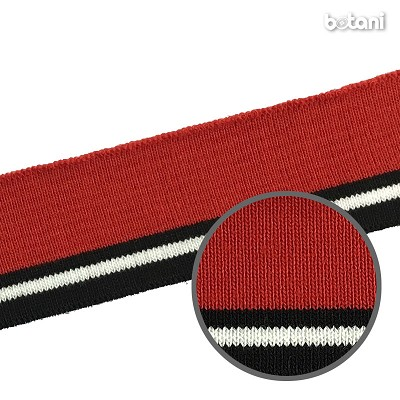 "YDDY1804-34: 1.25"" x 28"" Striped Rib Knit"