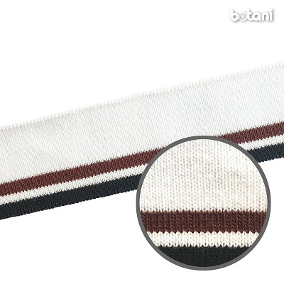 "YDDY1804-50: 1.25"" x 32"" Striped Rib Knit"