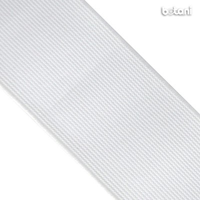 "Flat Elastic : White 76mm (3"")"